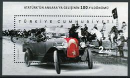 TURKEY STAMPS 2019/ATARTUK ARRIVAL ANKARA S/S-MNH - Unused Stamps