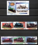 Cuba 2019 / Railways Trains MNH Trenes FFCC Züge / Cu18620  C2-5 - Trains
