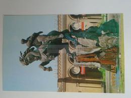 D180517    Armenia  Yerevan  Erevan Երևան  1981  Monument To David Of Sasun  - Horse  Statue - Armenia