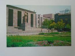 D180519      Armenia  Yerevan  Erevan Երևան  1981  Monument To S. Shaumyan - Armenia