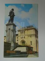 D180520   Armenia  Yerevan  Erevan Երևան  1981  Monument To  V.I.  Lenin - Armenia