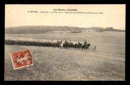 55 - SAINT-MIHIEL - REVUE DU 14 JUILLET 1911 - DEFILE DU 25E BATAILLON DE CHASSEURS A PIED - EDITEUR LEVY - Saint Mihiel