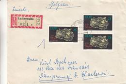 Allemagne - République Démocratique - Lettre Recom De 1966 ? - Oblit Luckenwalde - Minéraux - Valeur 15 Euros - Brieven En Documenten
