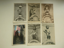 """Beau Lot De 20 Cartes Postales De Belgique Bruxelles  """" Manneken Pis """"   Mooi Lot Van 20 Postkaarten Van België - 5 - 99 Postcards"""
