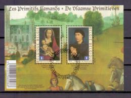Blok 185 Vlaamse Primitieven Gestempeld 2010 - Blocks & Sheetlets 1962-....