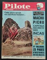 1964 JOURNAL PILOTE N° 233 - LE JOURNAL D'ASTERIX ET D'OBELIX  -  ASTERIX ET CLEOPATRE - MACHU PICHU CAPITALE DES INCAS - Pilote