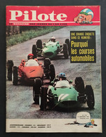 1963 JOURNAL PILOTE N° 216 -  ASTERIX ET CLEOPATRE - ACHILLE TALON - COURSES AUTOMOBILES - Pilote
