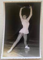 Photo De Sport. Championnats Du Monde De Patinage Artistique. Figure De Patinage. 1967. Hana Mazkova. Hana Mašková. - Deportes