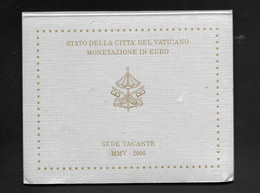 VATICAN Série De 8 Pièces  Euros SEDE VATICANTE MMV 2005 - Vatican