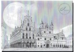 Belgique: Feuillet Noir Et Blanc 2021 **  Mechelen - Black-and-white Panes