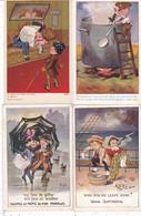 LOT///005.........8 CPA ILLUSTRATEURS ANGLAIS - 5 - 99 Postcards