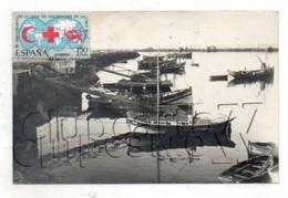 Agadir (Maroc) : Le Port De Pêche Env 1950 (animée) TP Espagnol PF. - Agadir