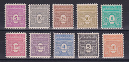 D 197 / N° 620/629 NEUF** COTE 39€ - Collections