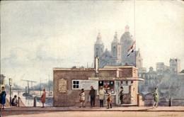 Amsterdam - Watertaxi Station - 1915 - Amsterdam