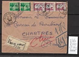 Algerie -EA  - Lettre Recommandée - SOUK - AHRAS - 08/1962 - Briefe U. Dokumente