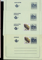 Cartes Neuves N° 51.I.FN. Et IV.N.  (2 X )   Oiseaux Buzin: Avocette - Letter-Cards