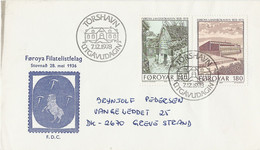 Faeroër Brief Uit 1978 Met 2 Zegels (2060) - Féroé (Iles)