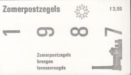 NIEDERLANDE  Markenheftchen 36, Postfrisch **,  Sommermarken Zugunsten Soz. Und Kult. Fürsorge: Baudenkmäler, 1987 - Postzegelboekjes En Roltandingzegels