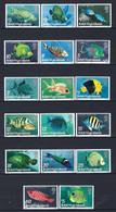 ⭐ Iles Vièrges - YT N° 282 à 298 ** - Neuf Sans Charnière - Thématique Poisson - 1975 ⭐ - British Virgin Islands