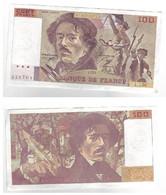Billet De Banque - France - 1990 - 100F - Delacroix - 100 F 1978-1995 ''Delacroix''