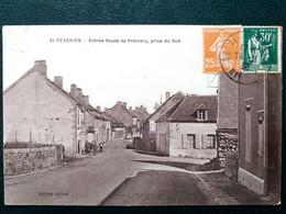 58 ,saint Révérien ,entrée Route De Prémery En 1938 - Other Municipalities