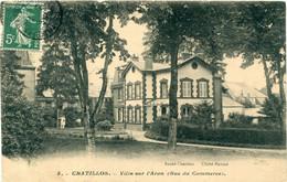 58 - Chatillon En Bazois : Villa Sur L' Aron ( Rue Du Commerce ) - Chatillon En Bazois