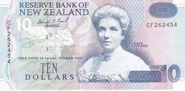 BILLETE DE NUEVA ZELANDA DE 10 DOLLARS DEL AÑO 1992 EN CALIDAD EBC (XF) (BIRD-PAJARO) (BANKNOTE) - New Zealand