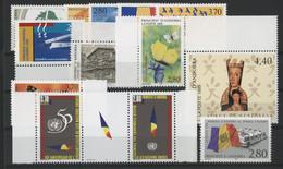 ANDORRE FRANCAIS 1995 ANNEE COMPLETE COTE 29.4 € N° 454 à 466 NEUFS ** (MNH). Vendue à 10% De La Cote. TB - Full Years