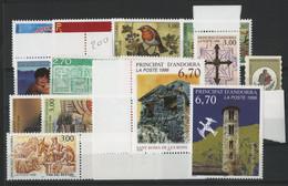 ANDORRE FRANCAIS 1996 ANNEE COMPLETE COTE 39.1 € N° 467 à 483 NEUFS ** (MNH). Vendue à 10% De La Cote. TB - Años Completos