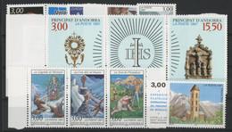 ANDORRE FRANCAIS 1997 ANNEE COMPLETE COTE 35.8 € N° 484 à 496 NEUFS ** (MNH). Vendue à 10% De La Cote. TB - Años Completos
