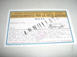 ABBONAMENTO SCOLASTICO 1976-77 - Europa