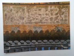 D180536  South  Korea - SEOUL  - Brick Chimney Decorated With Ten Long Life Symbols  Ca 1980's - Corea Del Sud