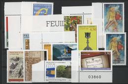 ANDORRE FRANCAIS 1998 ANNEE COMPLETE COTE 49.3 € N° 497 à 511 NEUFS ** (MNH). Vendue à 10% De La Cote. TB - Años Completos