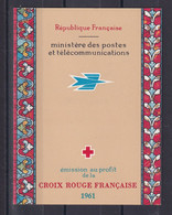D 198 / CARNET CROIX ROUGE 1961 NEUF** COTE 46€ - Collections