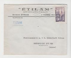 SOMME: ETILAM, Division Etirage à Corbie / LSC De 1955 Pour Bethencourt - 1921-1960: Modern Tijdperk