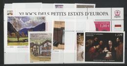 ANDORRE FRANCAIS 2005 ANNEE COMPLETE COTE 58.3 € N° 604 à 619 NEUFS ** (MNH). Vendue Sous La Valeur Faciale (-25%). TB - Full Years