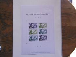 FRANCE 2021   N0UVEAUTE    BLOC ANTOINE DESAINT EXUPERY 1900/1944  HORS ABONNEMENT LUXE - Nuovi