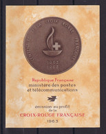 D 198 / CARNET CROIX ROUGE 1963 NEUF** COTE 16€ - Collections