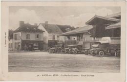 Arcis Sur Aube (10 - Aube) Le Marché Couvert -  Place D'Armes - Arcis Sur Aube