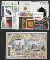 ANDORRE FRANCAIS 2010 ANNEE COMPLETE COTE 54.5 € N° 691 à 703 NEUFS ** (MNH). Vendue à La Valeur Faciale. TB - Full Years