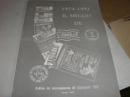 CATALOGO 1974-1992 IL MEGLIO DELL'ANNULLO - Italia