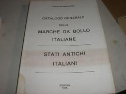 CATALOGO GENERALE DELLE MARCHE DA BOLLO ITALIANE -PAOLO DE MAGISTRIS 1976 - Italia
