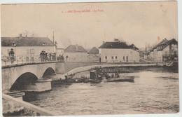 Arcis Sur Aube (10 - Aube) Le Pont - Péniches - Arcis Sur Aube