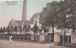484567Omstr. Haarlem, Huize Karol (Huize Kareol)(linksboven Een Beschadiging) - Haarlem