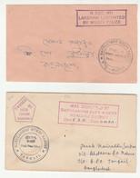 Four Letter Covers Bangladesh Liberation Forces Cancels On Pakistan Stamps 1971 Laksham Noakhali Dinajpur Barisal - Bangladesch