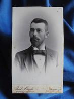 Photo CDV Paul Mende, Hagen I.W - Portrait Homme élégant, Circa 1895-1900 L556A - Old (before 1900)