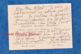 Carte De Visite Ancienne - LE MANS - Docteur Xavier MORDRET Médecin Interne Des Hopitaux De Paris - Rue Des Arenes - Visiting Cards