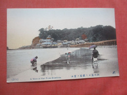 View Of Pier From Enoshima Japan    Ref  4987 - Non Classificati
