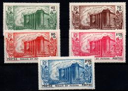 Wallis Y Futuna Nº 72/6. Año 1939. - Unused Stamps