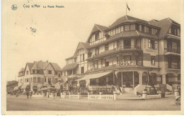 3 COQ-SUR-MER - DEN HAAN AAN ZEE : La Route Royale - RARE VARIANTE - Cachet De La Poste 1936 - De Haan